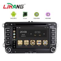 7 Inch Touch Screen Volkswagen DVD Player Android 8.1 Car With Wifi BT GPS AUX Manufactures