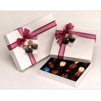 Handmade Decorative Cardboard Chocolate Packaging Boxes 8 * 8 * 2 Inch Manufactures