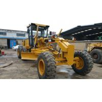 Quality Caterpillar 140K Used Motor Grader 1600h , Pull Behind Road Grader For Sale for sale