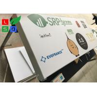 Quality Customized Size LED Light Box Display , Fabric Frame Light Box Sign For Wall Mounting for sale