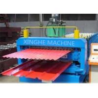 Galvanized Metal Double Layer Roofing Sheet Roll Forming Machine / Roll Former Machinery Manufactures