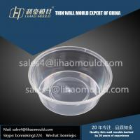 750ml PP high speed disposbale thin walled pot mould provider Manufactures
