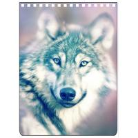 Custom A4 A5 A6 Wolf Images 3D Lenticular Cover With PET / PP Friendly Material Manufactures
