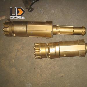 Golden Wear Resistant ODEX Drilling System , Alloy Steel Ring Bit Drilling System Manufactures