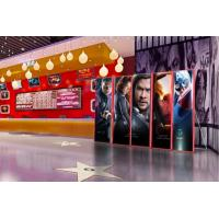 China Street Pole Led Lighted Posters / P2.5 Outdoor HD Led Poster Light Box on sale