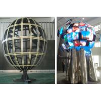 Sphere LED Display With 360 Degree / Waterproof LED Ball Full Color For Hotel , Stage Manufactures