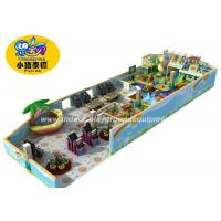Customized  Soft Indoor Playground Equipment / Space Theme Children Park Indoor Soft Play Area Manufactures