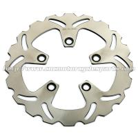 Rear Motorcycle Brake Disc Rotor Kawasaki ZX7R ZXR 750 Heat Treatment 5 Holes Manufactures
