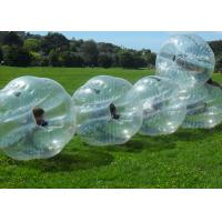 China PVC Bumper Bubble Ball For Soccer , 1.2m 1.5m 1.7m Human Inflatable Bumper Ball For Adult on sale