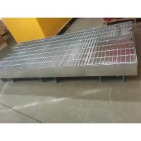 Drum IBC tank storage Spill Containment Pallets , Pallet Containment Tray For Spilled Fluids 3mm thick steel Manufactures
