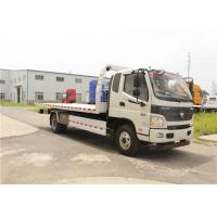 90km/H Special Vehicles 40000KG 104RB Heavy Duty Wrecker Altitude 0-4500m Manufactures