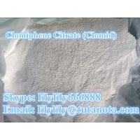 Raw Powder Anti Estrogen Steroids Clomid Clomiphene Citrate CAS 88431-47-4 Manufactures