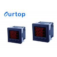 High Precision Digital Panel Meters Electric Smart Meter With P/Q/H/F Phase Manufactures