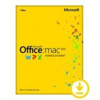 Buy cheap 1 Installation Office For Mac License Home And Student 2011 Retail Download from wholesalers