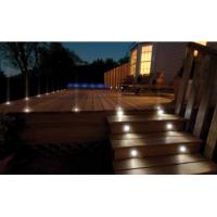 Quality Quick Installation Solar Deck Lights Waterproof Stainless Steel Solar Floor Lamps for sale