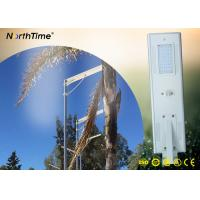 40W High Power Solar Lights , Commercial  All in One Solar Street Light Systems Manufactures