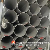 Stainless Steel Welded Pipes, ASTM A312 TP304,TP304L,TP304H,TP321,TP316L,ASTM A790 S31803,SCH10, SCH40,6M,11.8M Manufactures