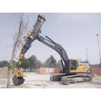 Excavator Telescopic Boom Clamshell for Digging 15m - 26m Depth Holes with 0.65CBM Bucket Capacity Manufactures