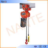 Explosion Proof Low Headroom electric hoist trolley With Motor Drive Trolley NT Type Manufactures