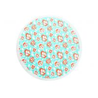 Reactive Printed Microfiber Round Beach Towel , Personalized Bath Towels Manufactures