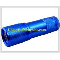 China Aluminum Alloy 3*AAA Battery Powered 395NM 9 UV LED Pocket FLashlight/Torch Manufacturer on sale