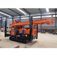 FY300 Air Water Well Drilling Rig Crawler Hydraulic Well Drilling Machine Diesel Power 300m Depth Rig For Sale Manufactures