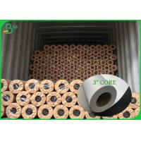 China Uncoated High Whiteness Roll Cutting Plotter Paper For Advantising Material on sale