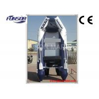Fish Hunter 6 Man Foldable Inflatable Boat With Seat Bag / Boat Cover Manufactures