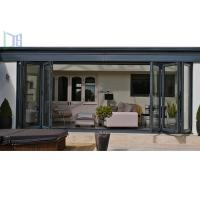 Quality LYS Soundproof Aluminium Bi Folding Patio Doors Easy Clean For Room Dividers for sale