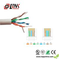 LAN CABLE CAT5E networking cabling 4pairs twisted pair utp ftp sftp cable Manufactures