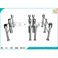 Pedestrian Control System Swing Barrier Gate Disabled Turnstiles Indoor Outdoor Manufactures