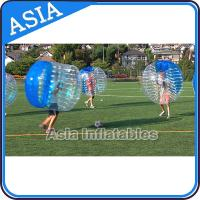 China Funny And Crazy Human Bubble Ball With Best 1.0mm Tpu For Soccer Competition on sale
