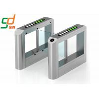 Supermaket Swing Barrier Gate Access Control Stainless Steel Turnstiles Manufactures