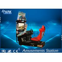 32 Inch HD LCD Screen Racing Game Machine Stereo System For Entertainment Manufactures