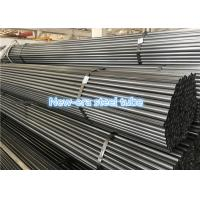 Erw Carbon / Alloy Welded Steel Pipe Round Shape For Mechanical Engineering Manufactures