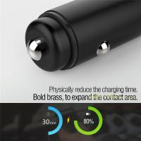 China Newest Products Car Usb Charger 2018,Phone Car Charger,Electric Car Charger Quick Charge 3.0 For Smartphones on sale
