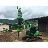 Construction Stratum Bored pile rig machine , pile driving machinery Manufactures