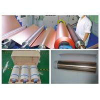 ISO Approval Battery Copper Foil Sheet, LB Single Shiny Copper Sheet Roll Manufactures