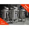 Buy cheap BOCIN Liquid Water Single Bag Filter Housings Hydraulic Filter , Pn1.0 / 1.6mpa from wholesalers