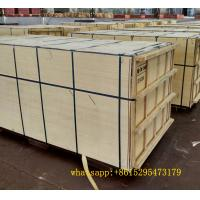 Brown marine plywood marine board black film faced plywood to africa market Manufactures