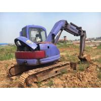 6 Cylinders Koamtsu PC75 Mini Digging Machine No Any Damage With Original Turbo Manufactures