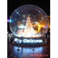 Indoor Transparent Inflatable Bubble Tent Fire Resisting For Show Manufactures