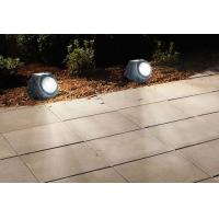 Quality Solar Powered Garden Rock Lights , Resin LED Solar Rock Landscaping Lights for sale