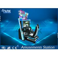 3D LCD Screen Racing Game Machine Initial D5 With New Racing Tracks Manufactures
