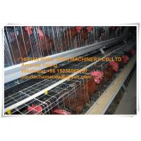 Silver Galvanized Steel Cage Battery Cage Layer Breeder Chicken Cage/Coop for Poultry Farm Manufactures