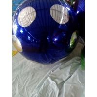 Finely Processed Inflatable Mirror Disco Ball , Custom Advertising Balloons With Fireproof Material Manufactures
