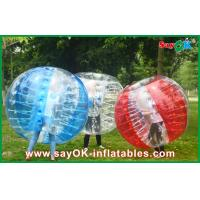 China Large Inflatable Bubble Ball , 1.5m Sport Games Inflatable Bumper Ball on sale