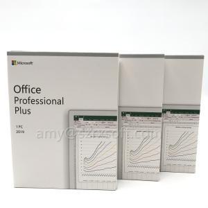 China Original Windows 10 Microsoft Office 2019 Pro Plus License Key on sale