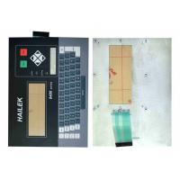 Aluminum Background Custom Membrane Switches ISO14001 / RoHS Manufactures