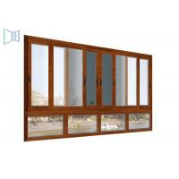 Easy Installment cheap aluminium sliding windows With Double Glazed Tempered Glass Manufactures